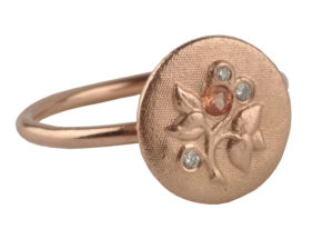Floral ring by Lindsay Pearson